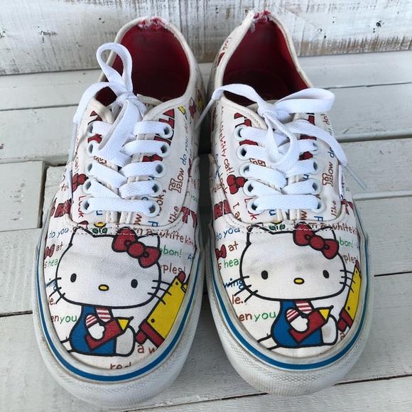 Vans Shoes   Hello Kitty Size 9   Poshmark
